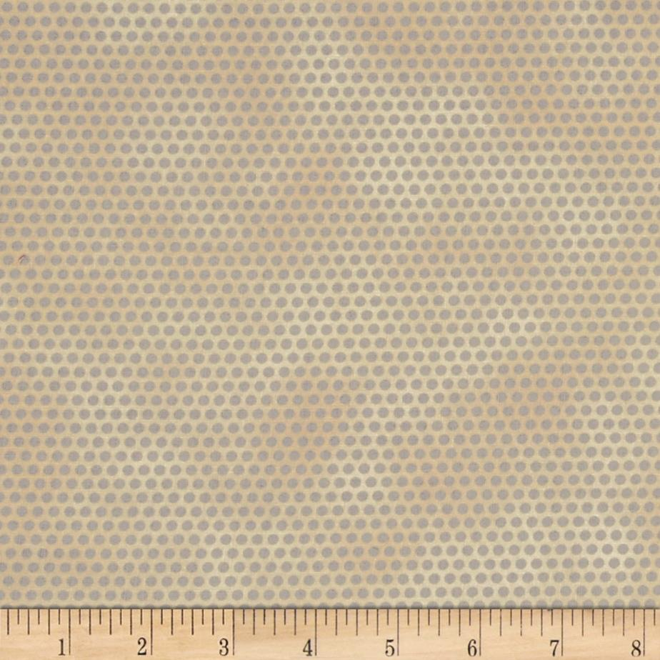 Molly B's Studio Hint of a Print Dot Tan/Grey