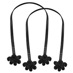 Cindy's Purse Straps 32'' Daisy Black