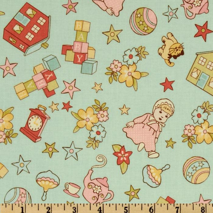 Object moved for Retro baby fabric