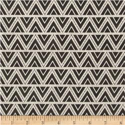 ADORNit You & Me Stitch Triangles Gray