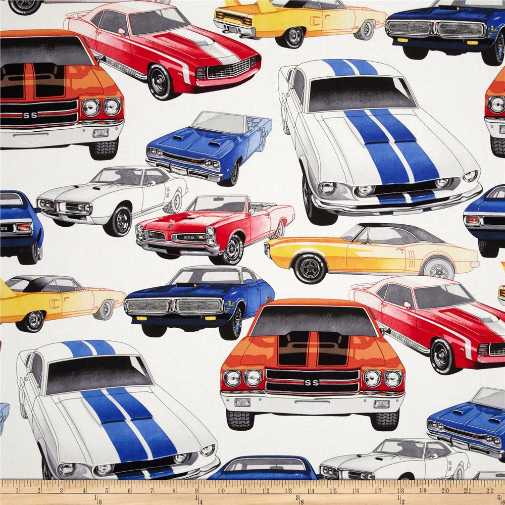 Nicole's Prints Pure Muscle Cars Natural