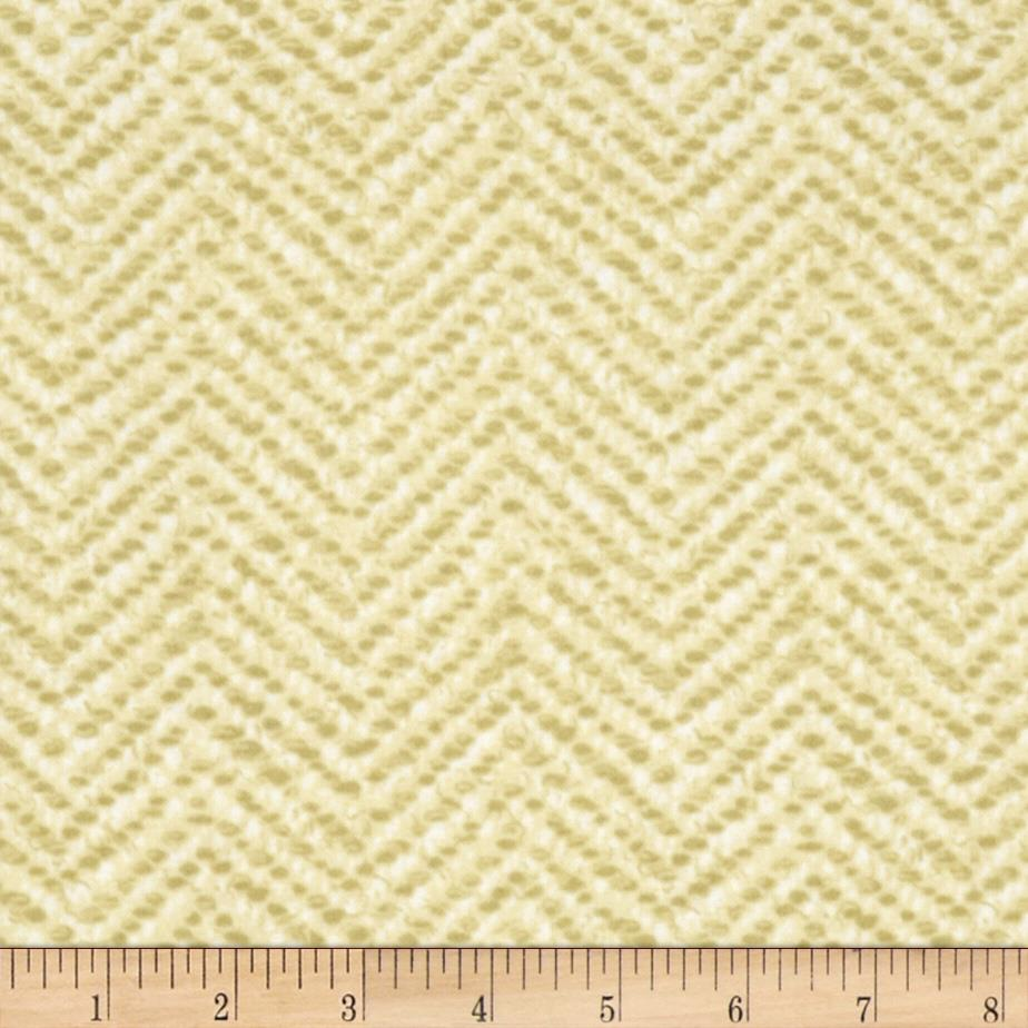 Snow Babies Flannel Herringbone Tweed Tan