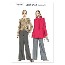 Vogue Misses' Jacket and Pants Pattern V9033 Size 0Y0