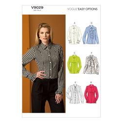 Vogue Misses' Blouse Pattern V9029 Size B50