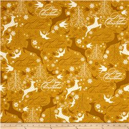 Sparkle Metallic Reindeer Gold