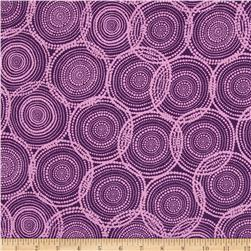 Valori Wells Quill Mod Circles Fig Purple