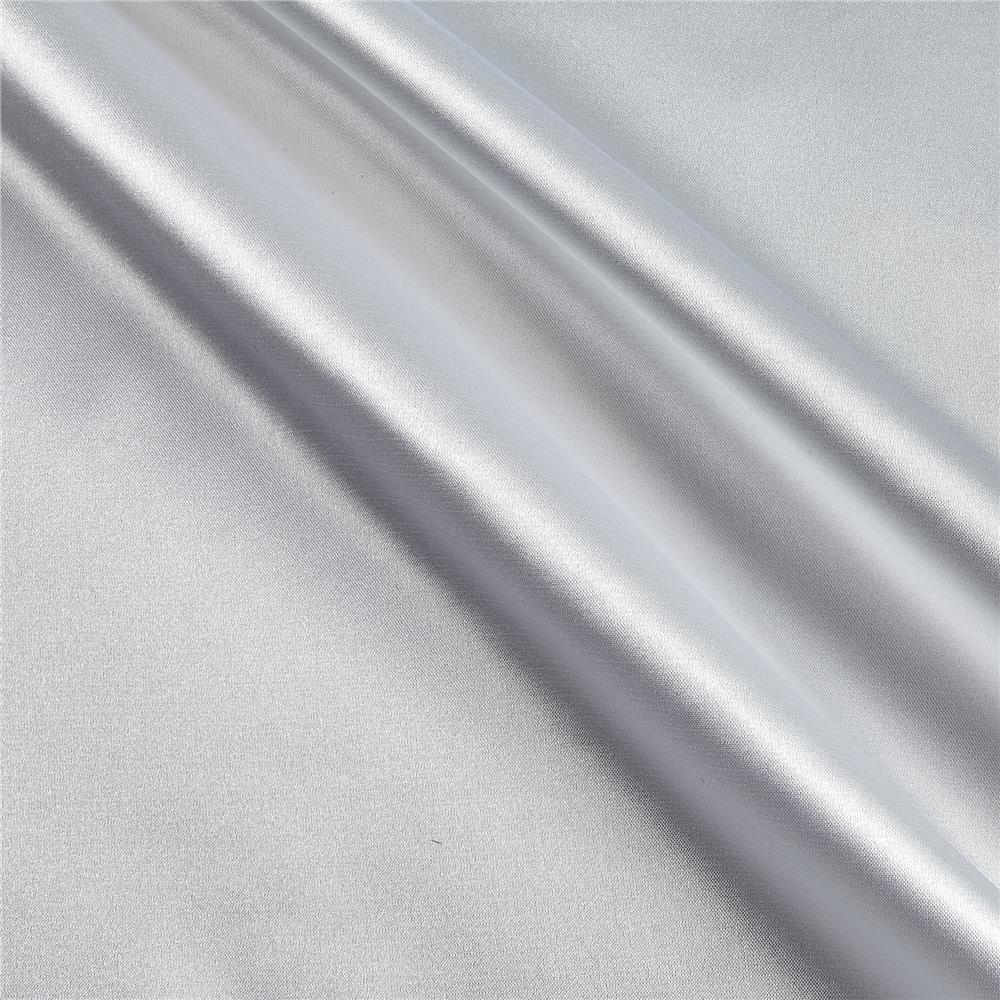 Stretch Charmeuse Satin White