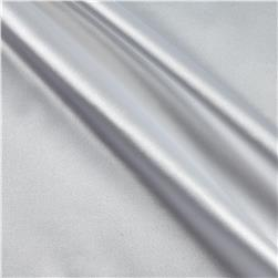 Stretch Charmeuse Satin White Fabric