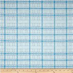 Kaufman Friedlander Box Stripe Sky