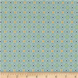 Riley Blake Cozy Christmas Wrapping Paper Blue