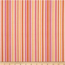 Riley Blake Summer Song 2 Stripe Yellow