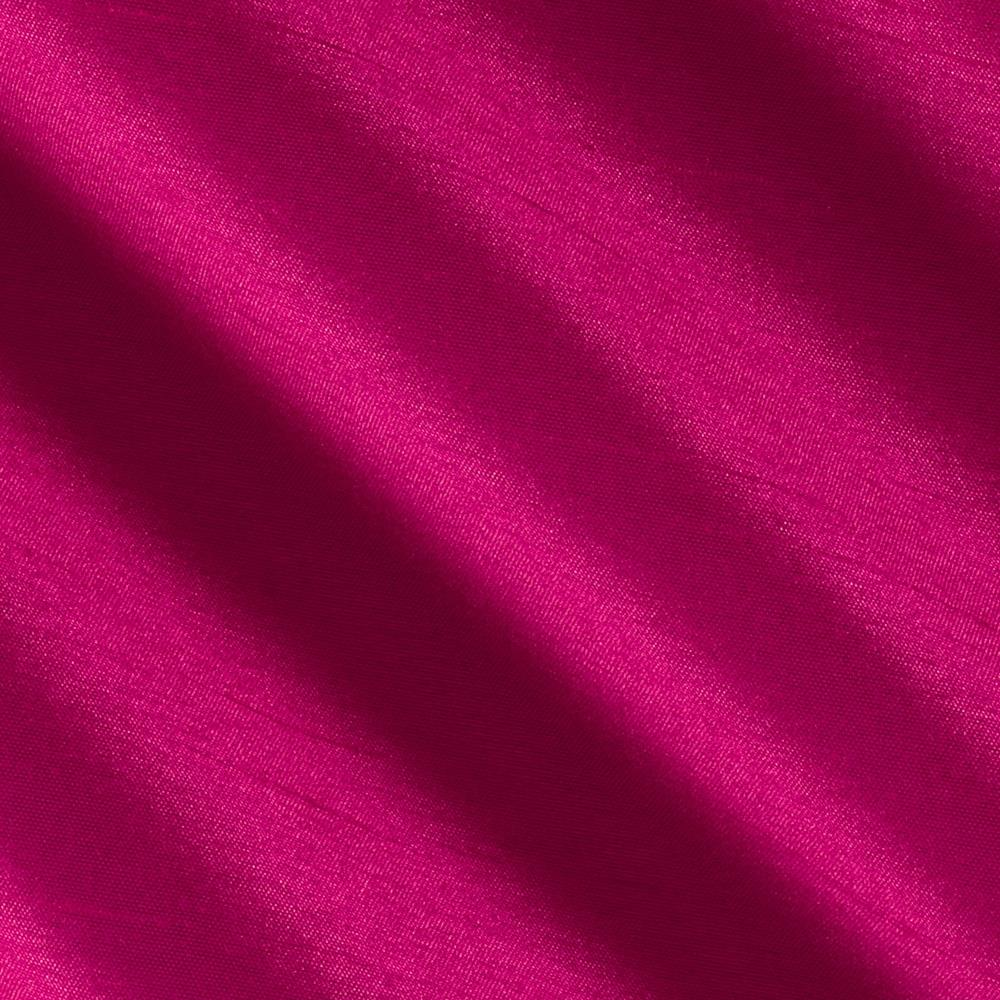 Faux Silk Shantung Hot Pink