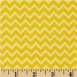 Riley Blake Camp a Lot Chevron Yellow