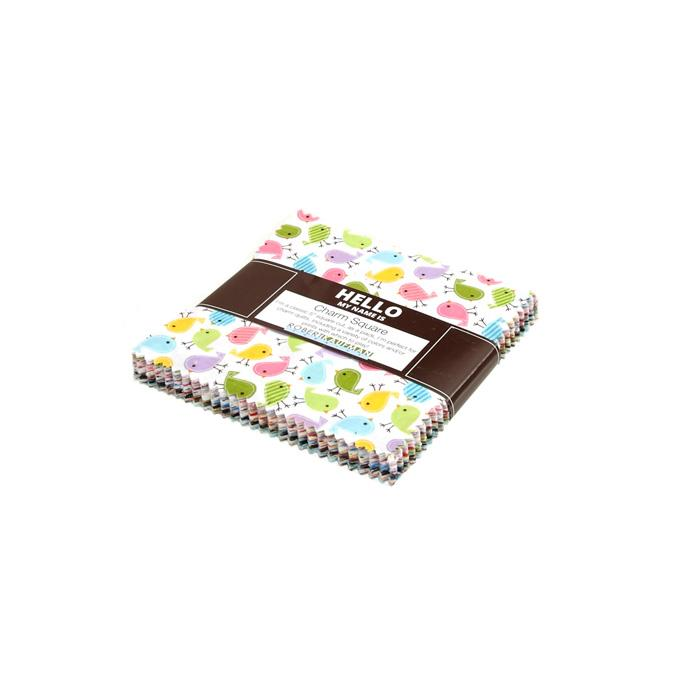 Robert Kaufman Urban Zoologie 5 In. Charm Pack