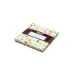 Robert Kaufman Urban Zoologie 5 In. Charm Pack Multi