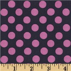 Michael Miller Ta Dot Gray Fabric