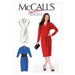 McCall's Misses' Dresses Pattern M6986 Size B50