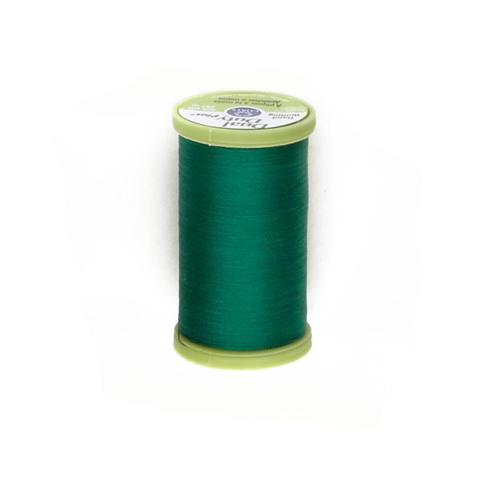 Coats & Clark Dual Duty Plus Hand Quilting Thread 325 Yds.Field Green