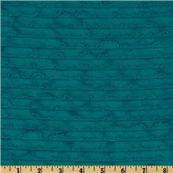 Bisou Stretch Mini Ruffle Knit Teal