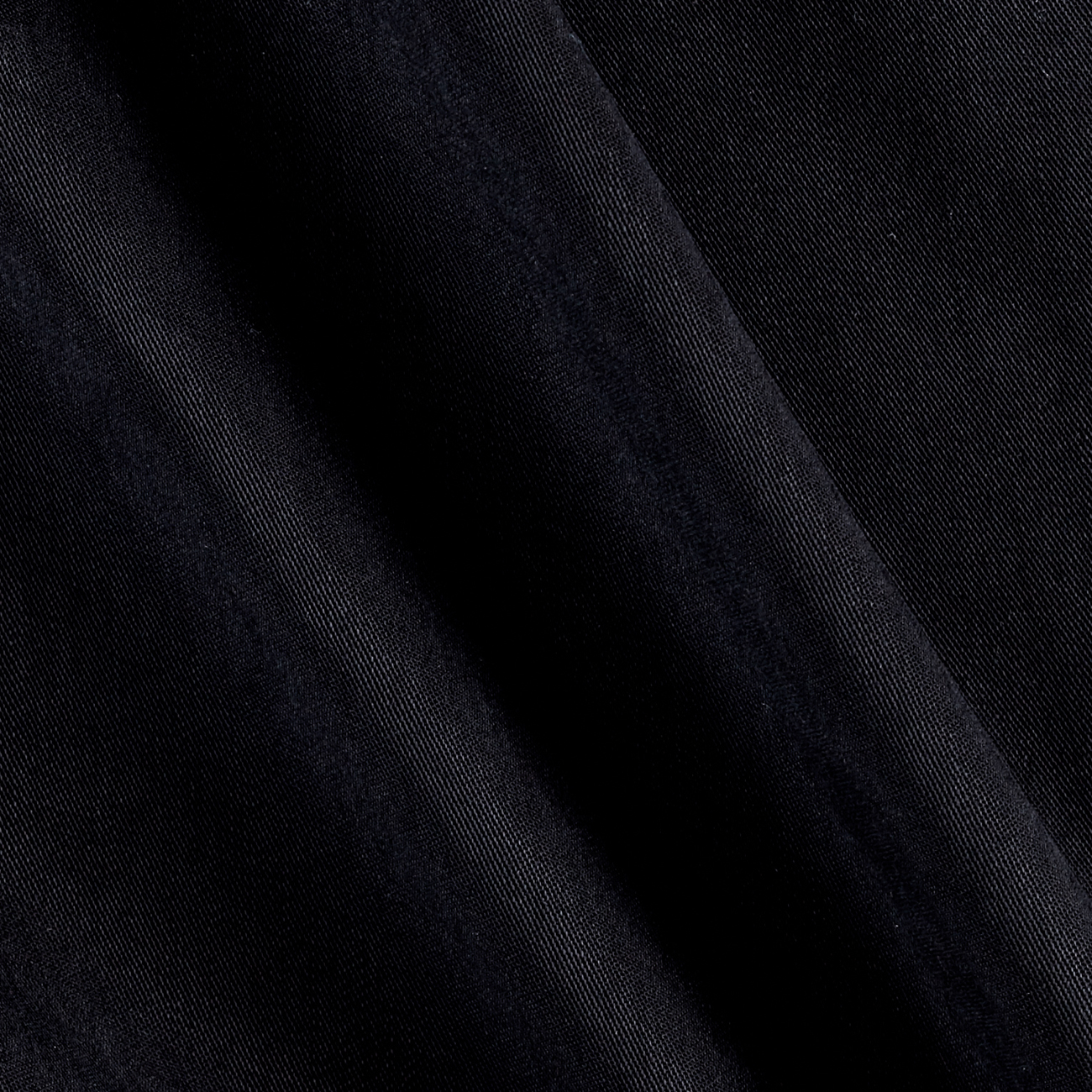 Lyocell Solid Black Fabric by Neiman in USA