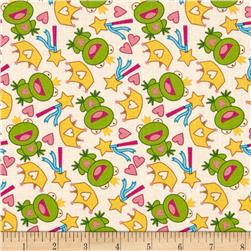 Unicorn Fantasy Froggy Cream/Multi Fabric