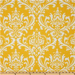 Premier Prints Ozborne Slub Yellow Fabric