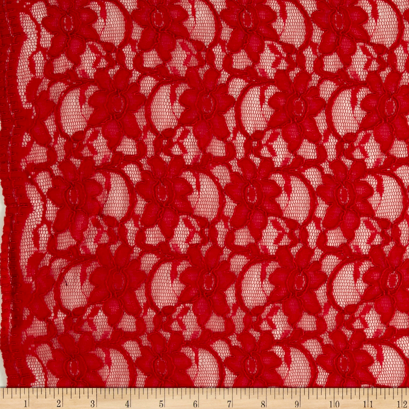 Supreme Lace Red Fabric