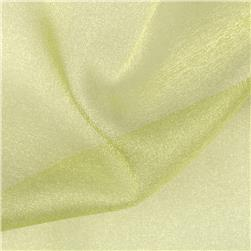 Sparkle Organza Maize Fabric