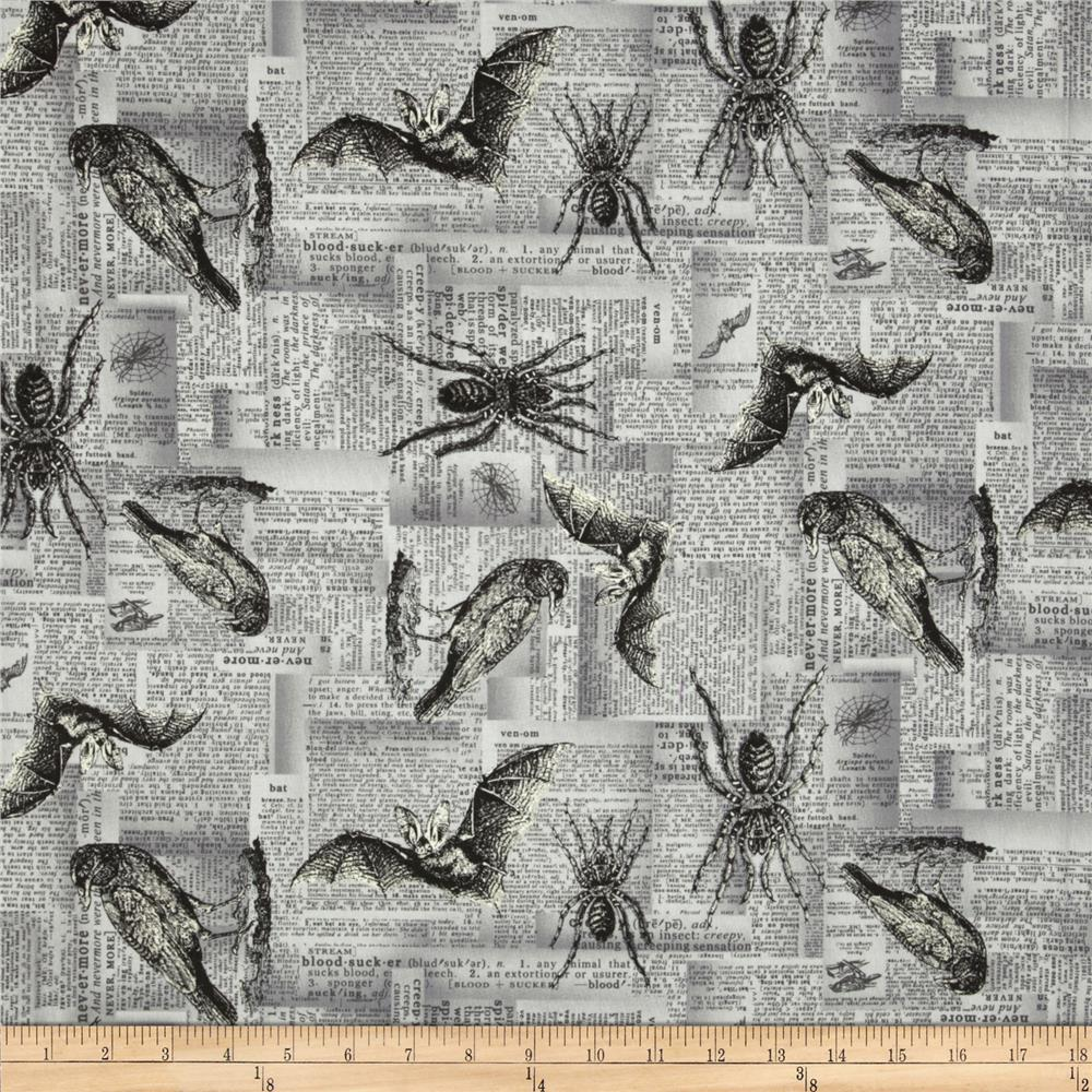 Sleepy Hollow Critters Eerie Grey
