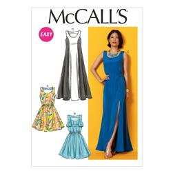 McCall's Misses' Dresses and Belts Pattern M6940 Size A50