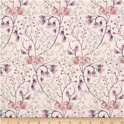 Cottage Garden Akebia Lavender Fabric