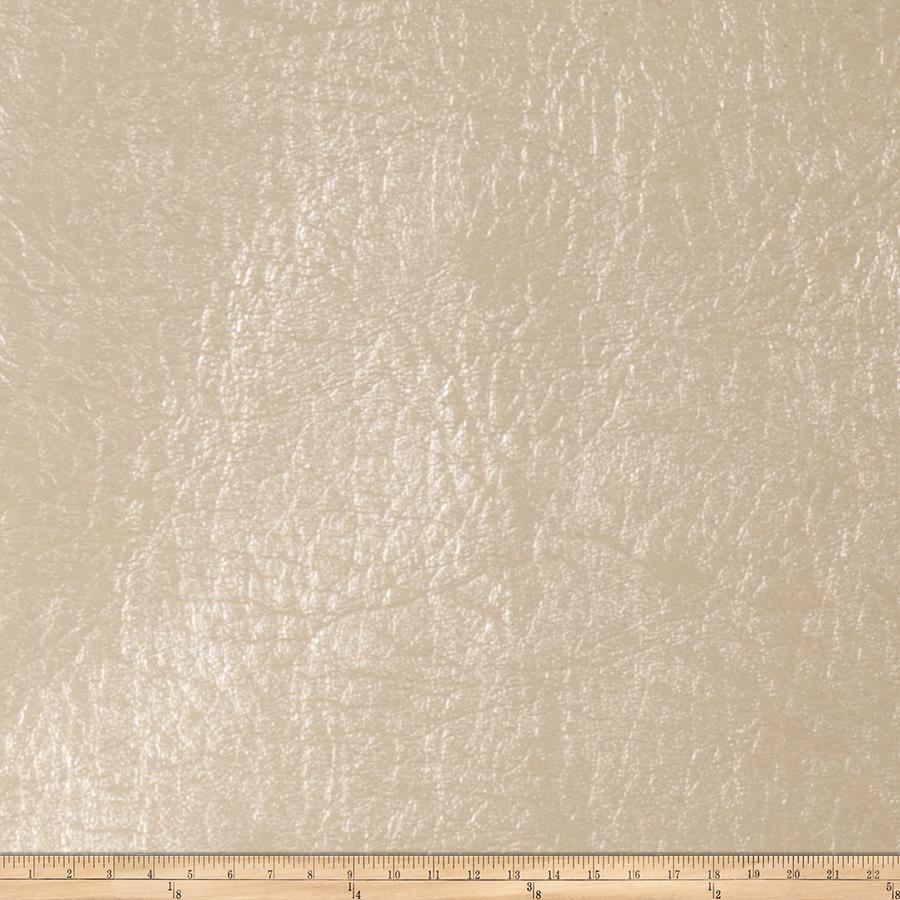 Fabricut Iridium Faux Leather Parchment