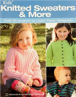 "Leisure Arts ""Kids' Knitted Sweaters & More"" Book"