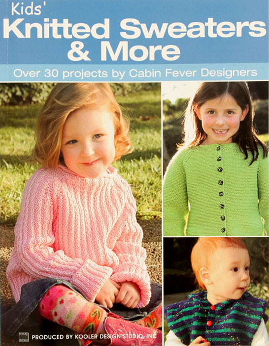 Leisure Arts ''Kids' Knitted Sweaters & More'' Book