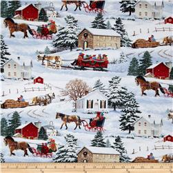 Sleigh Ride Scenic House Multi