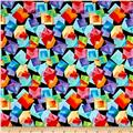 Kanvas Blocks Of Brilliance Floating Squares Black/Bright
