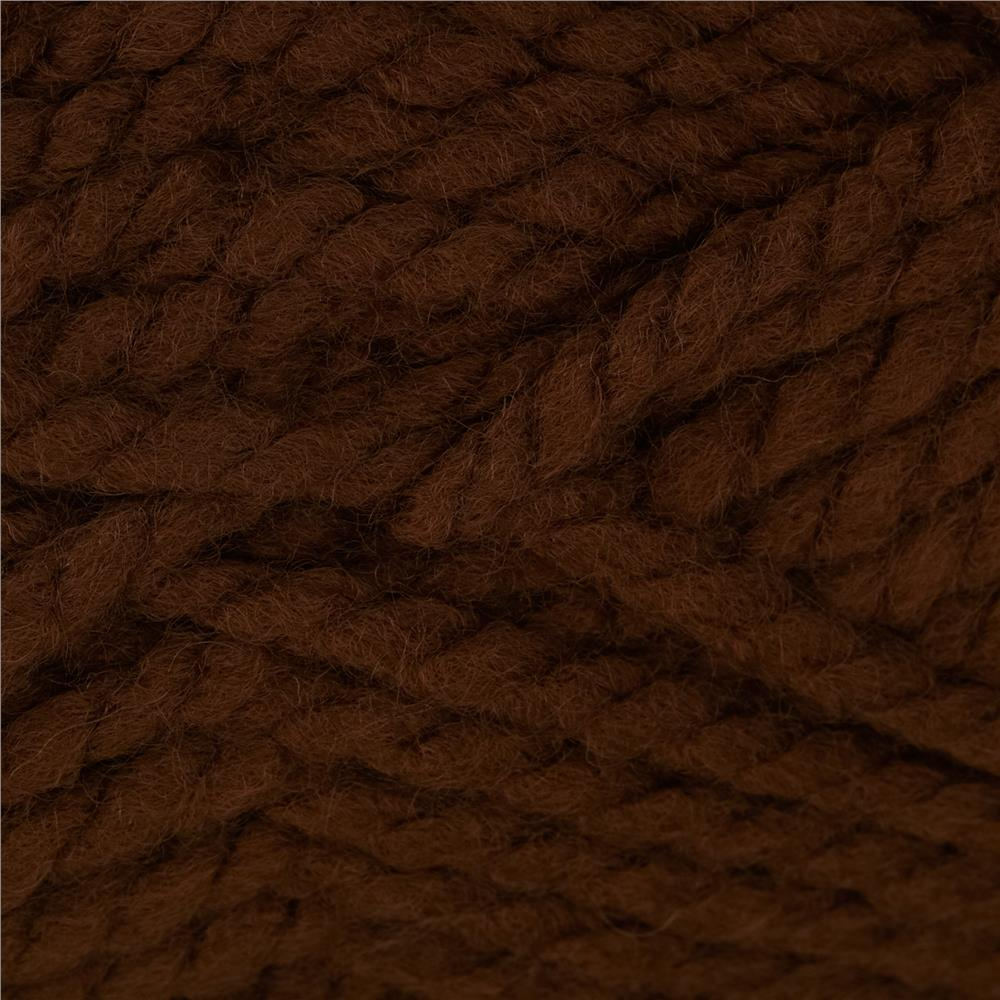 Bernat Wool Up Bulky Yarn 50013 Brown
