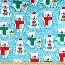 Winterfleece Snow Buddies Light Teal