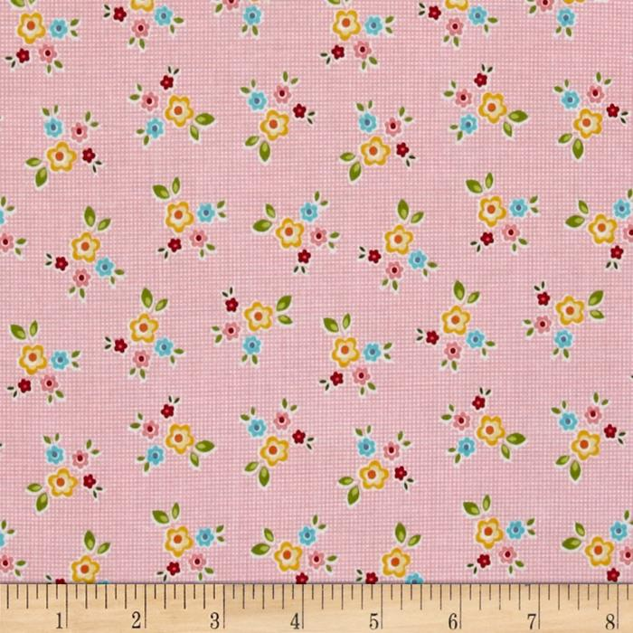Riley Blake Bloom & Bliss Floral Pink