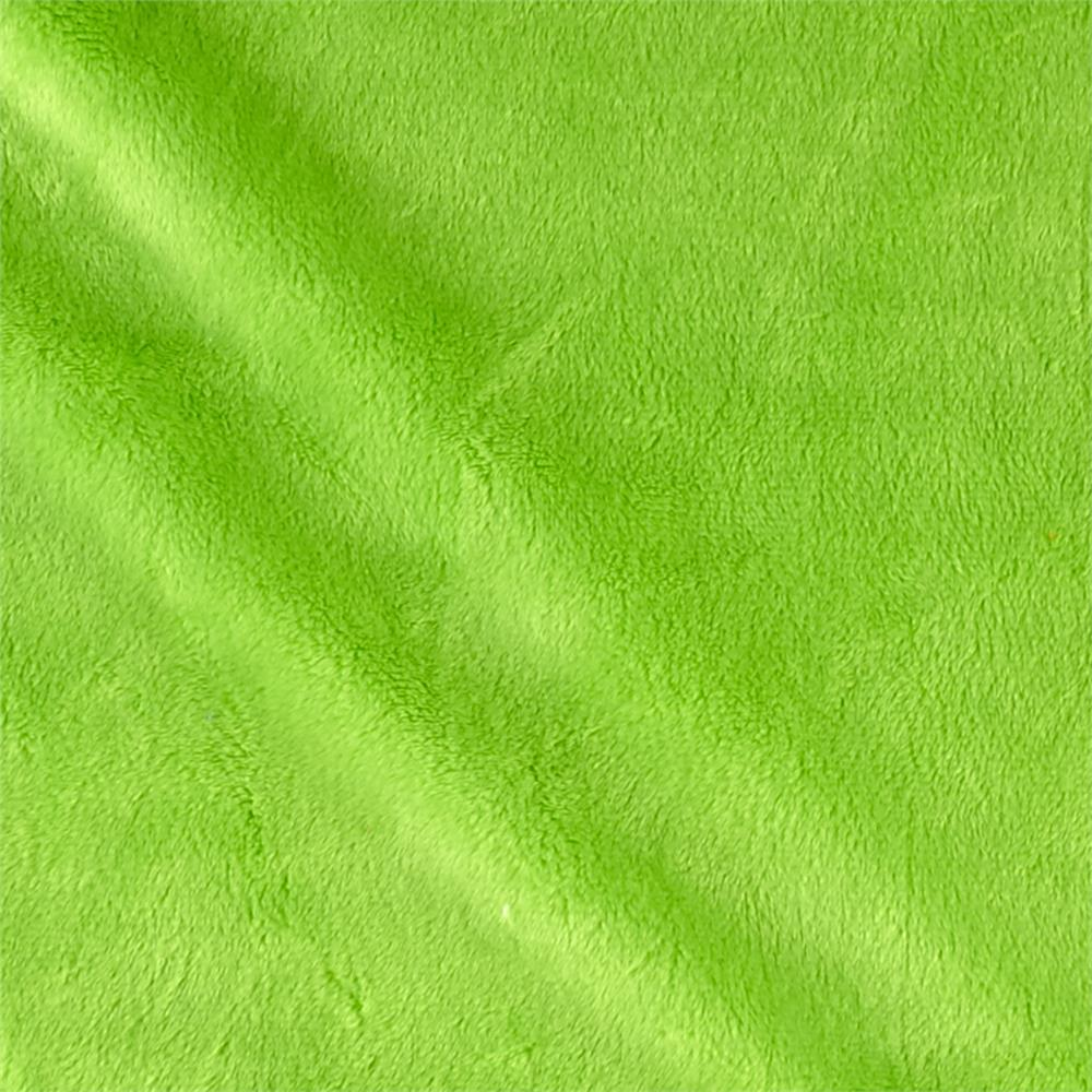 "Shannon Minky Cuddle 3 90"" Dark Lime"