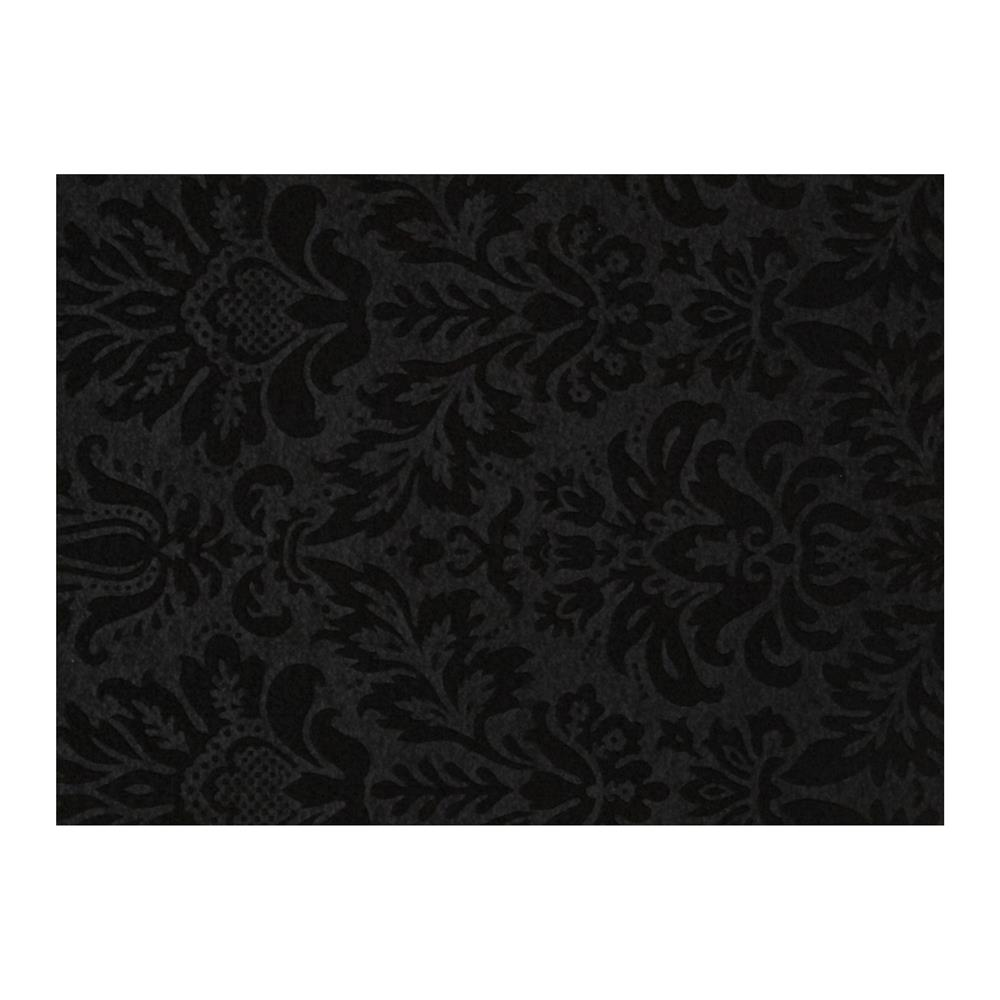 Embossed Felt 9x12'' Craft Cut Heritage Black