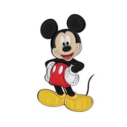 Disney Mickey Mouse Sew On Applique Mickey Mouse