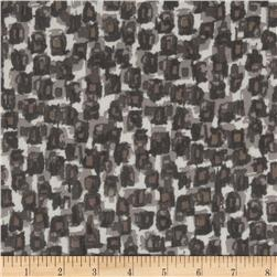 Chiffon Yoryu Stones Black/Brown