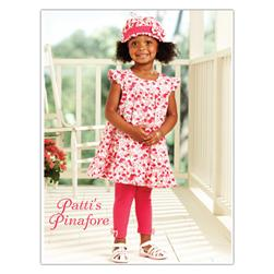 Kwik Sew Toddler Patti's Pinafore Dress, Pants, Hat