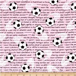 Kanvas All Stars Girls Soccer Pink