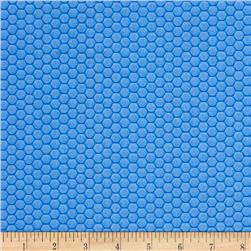 Ibot Hexi Grid Blue