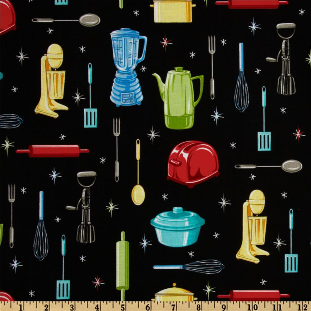 Kitchen Utensils Black