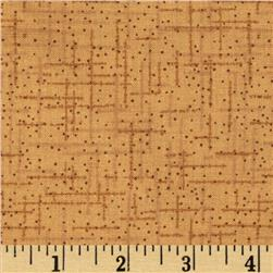 108'' Wide Matrix Quilt Back Light Brown Fabric