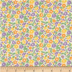 Moda 30's Playtime 2017 Bloomin Bouquet Cotton/Lavender