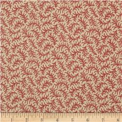 Amelia Tossed Feather Red